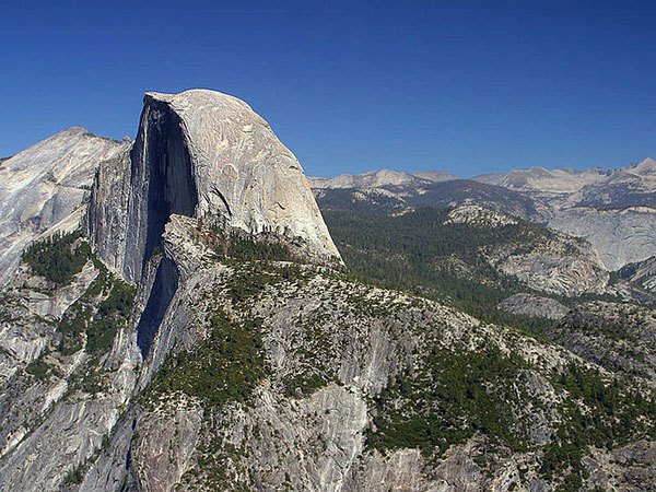 Part of the Sierra Nevada batholith (photo by Jon Sullivan)